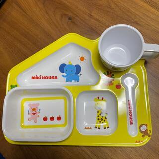 ミキハウス(mikihouse)のミキハウス ベビー キッズプレート 食器(離乳食器セット)