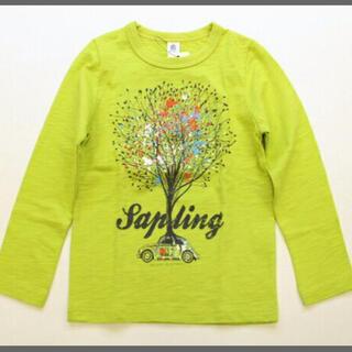 jeans-b - ジーンズベー 長袖Tシャツ ツリープリントロングTシャツ ロンT 子供服