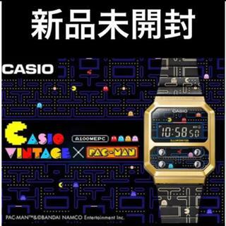 ジーショック(G-SHOCK)のCASIO カシオ パックマン コラボモデル A100WEPC-1BJR(腕時計(デジタル))
