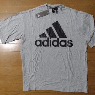 adidas - adidas Tシャツ オーバーサイズ グレー Oサイズ