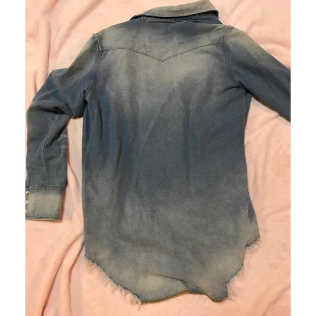 HALFMAN(ハーフマン)のHALFMAN♡デニムシャツ メンズのトップス(Tシャツ/カットソー(七分/長袖))の商品写真