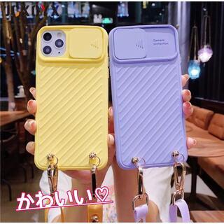 ✨可愛くて便利✨いま人気急上昇中‼️ストラップ付きiPhoneケース