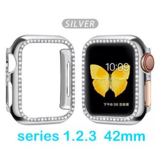 Apple Watch - 〖新品〗Apple Watch ケース クリスタル 《 シルバー 》✦42mm