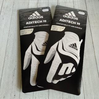 adidas - 【24cm】アディダス ゴルフグローブ 2枚セット aditech19 即日発送