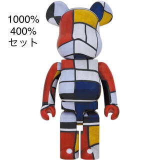 MEDICOM TOY - BE@RBRICK × Piet Mondrian 100%400% 1000%