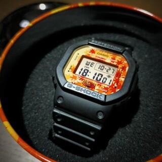 ジーショック(G-SHOCK)のCASIO G-SHOCK DW-5600TAL-1JR 紅葉カラー 限定(腕時計(デジタル))