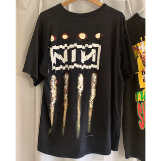 FEAR OF GOD - nine inch nails vintage rap tee 2pac