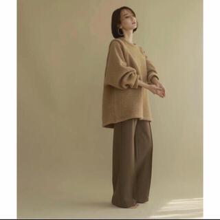 TODAYFUL - louren mohair knit pullover camel