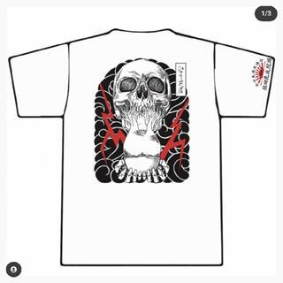 佐田ビルダーズ Tシャツ ステッカー付き サイズL 送料無料 未開封