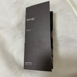 Aesop - Aesop Karst イソップ カースト【巾着付き】