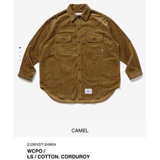 ダブルタップス(W)taps)のCAMEL XL 21AW WTAPS WCPO / LS / COTTON.(シャツ)
