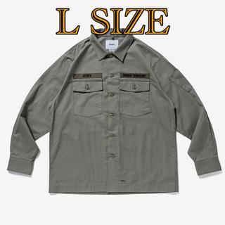 W)taps - XL SIZE BUDS / LS / COTTON. SERGE