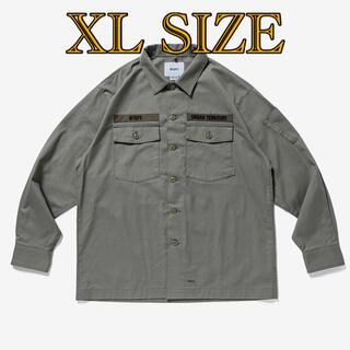 ダブルタップス(W)taps)のXL SIZE BUDS / LS / COTTON. SERGE(ミリタリージャケット)