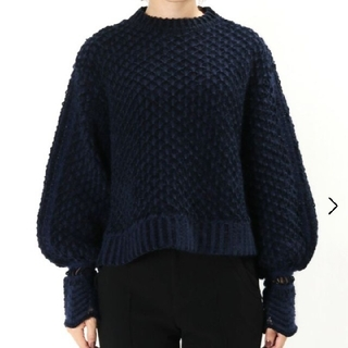 mame - マメクロゴウチ solomon's knot crewneck pullover