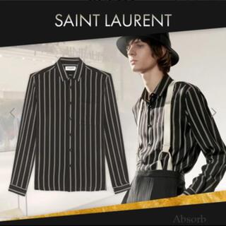 Saint Laurent - サンローラン シルク シャツ 美品 ジャケット デニム セリーヌ ディオール