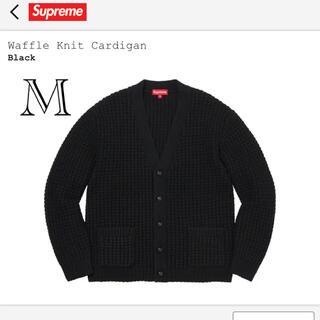 Supreme - FW21 supreme waffle knit cardigan black