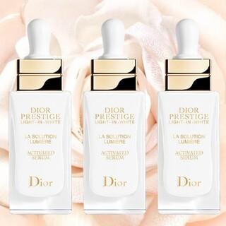 Dior - ディオールプレステージ ホワイト ラソリューション ルミエール ライトインセラム