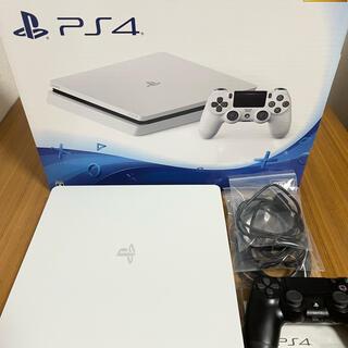PlayStation4 - PlayStation®4  PS4 本体 グレイシャー・ホワイト 500GB