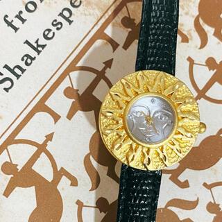 Grimoire - 腕時計 アナログ 太陽 サンフェイス 古着 レトロアクセサリー ブレスレット