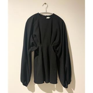TODAYFUL - ClaSTEllaR ♡ volume blouse ブラック