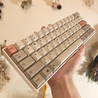 ゲーミングキーボード CHERRY MX 赤軸 RGB 60%