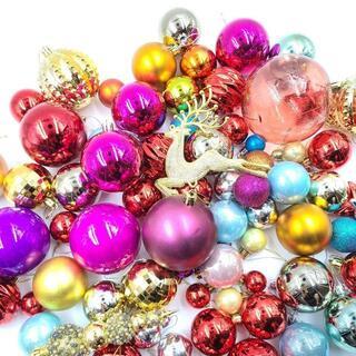 超お得!クリスマス オーナメント 豪華 70こセット クリスマスツリー 飾り