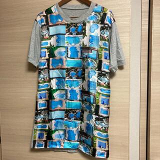 Maison Martin Margiela - 【新品】メゾンマルジェラ プールプリント シルク Tシャツ