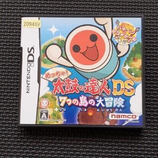 ニンテンドーDS - めっちゃ! 太鼓の達人DS 7つの島の大冒険 DS