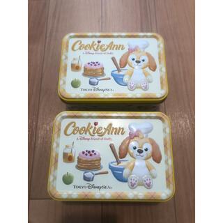 Disney - ディズニー クッキーアン お菓子缶2個セット