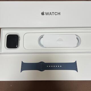 Apple Watch - Apple Watch SE GPSモデル 44mm シルバーアルミニウムケース