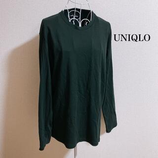 UNIQLO - ソフトタッチクルーネックT(長袖)