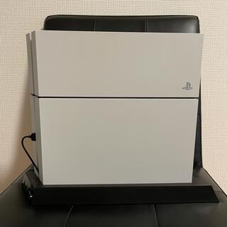 PlayStation4 - PS4・本体 ホワイト 500GB 【CUH-1200A】【スタンド付き】