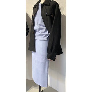 MADISONBLUE - マディソンブルー2019ストレッチ スエード ボトルスカート限定品 完売