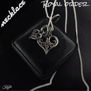 ROYALORDER - 総額5万↑↑★ROYAL ORDER【ロイヤルオーダー】ハートペンダント ピンク