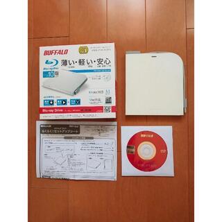 ポータブルBlu-rayドライブ BUFFALO BRXL-PT6U3-WH