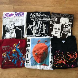 ソニックユース Tシャツ 6枚セット XXL