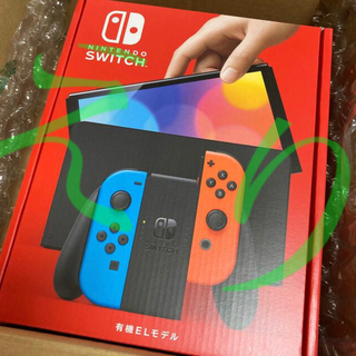 Nintendo Switch - Nintendo Switch 新型 有機ELモデル ネオン新品