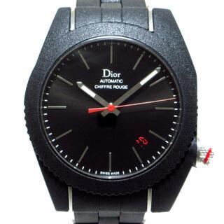 DIOR HOMME - ディオールオム 腕時計美品  CD084540 黒