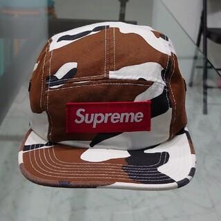 Supreme - Supreme シュプリーム カモフラ Camo チノツイル Cap キャップ