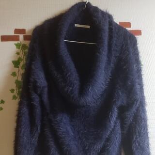 RETRO GIRL - 【レトロガール】 ネック付きセーター