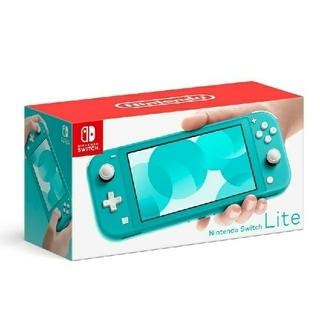 Nintendo Switch - 新品・未開封ニンテンドースイッチライト本体Switch Liteターコイズ
