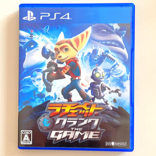 PlayStation4 - ラチェット&クランク THE GAME PS4