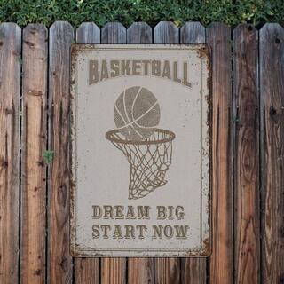 ブリキ看板★スポーツ_03★バスケットボール[20211028]アメリカ雑貨