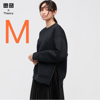 UNIQLO - 【完売/新品】ユニクロ×セオリー スウェットプルオーバー M