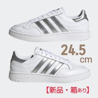 adidas - アディダス adidas オリジナルス チームコート  EG9824 24.5