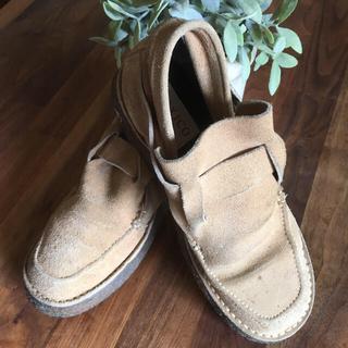 デプト(DEPT)のおもちさま専用  DEPT スウェード靴(ブーツ)