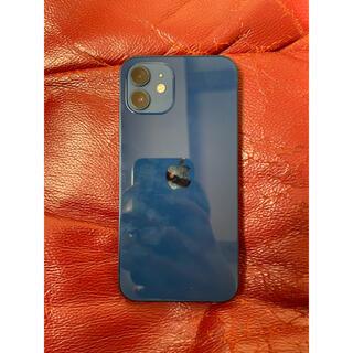 Apple - iphone12 ブルー 64gb simフリー