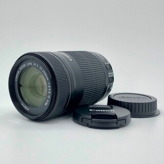 Canon - Canon  EF-S55-250mm F4-5.6 IS STM 純正フード付