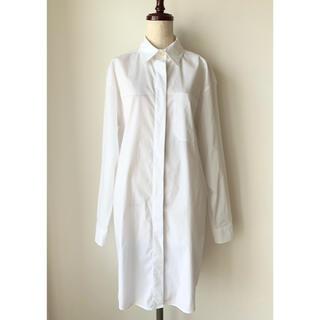 MM6 - MM6 マルタン・マルジェラ オーバーサイズシャツドレス 36