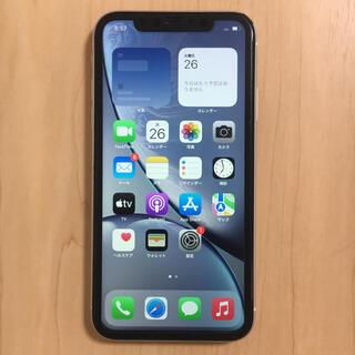 iPhone XR SIMフリー 128GB バッテリー良好 完動品(スマートフォン本体)
